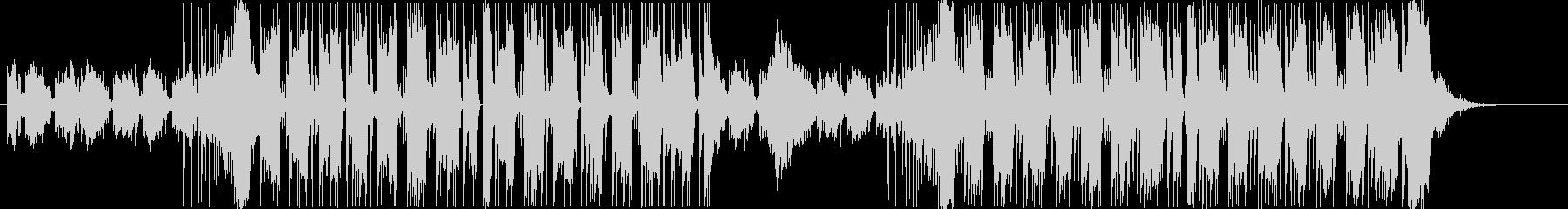 近未来的なシンセサウンドの未再生の波形