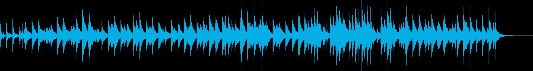 失恋 別れから前を向くピアノBGMの再生済みの波形