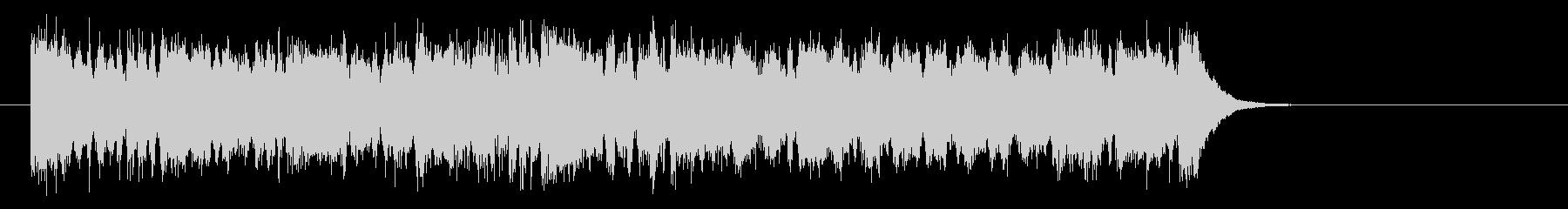 勇者のオーケストラ風音楽(サビ)の未再生の波形