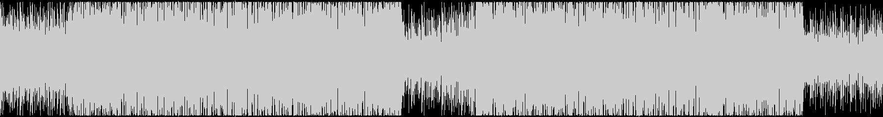【ループ対応】動画CM明るく切ないEDMの未再生の波形