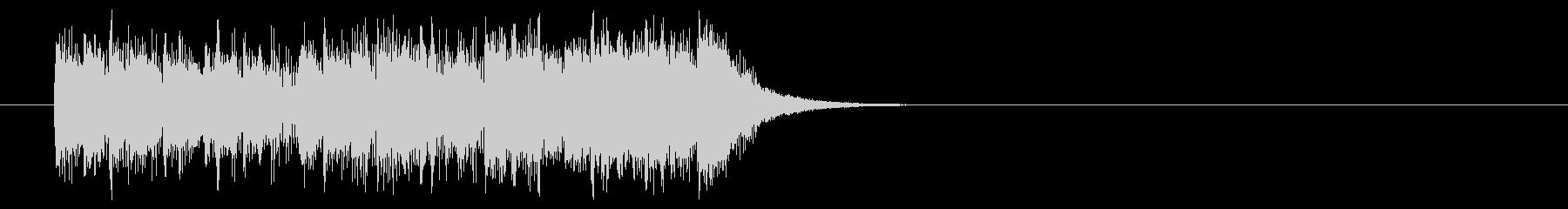ジングル/テンポのいいポップの未再生の波形