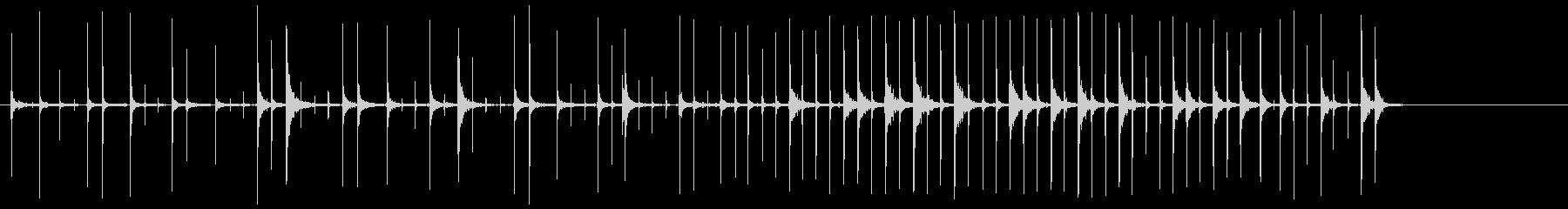 ザパテアドと引き出しの未再生の波形