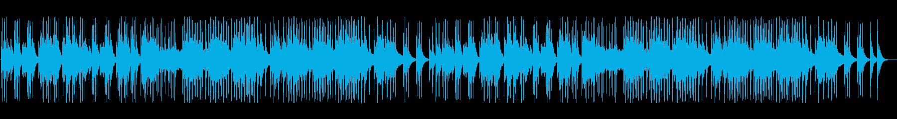 のんびり・のどかなクラシック風ポップスの再生済みの波形