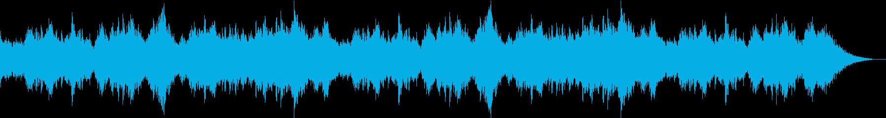 小学校唱歌・童謡の懐かしい子供の合唱の再生済みの波形