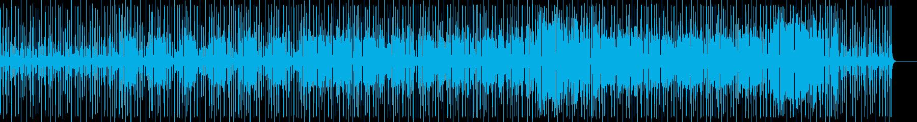 拍手がビートを刻むリズミカルなブルースの再生済みの波形