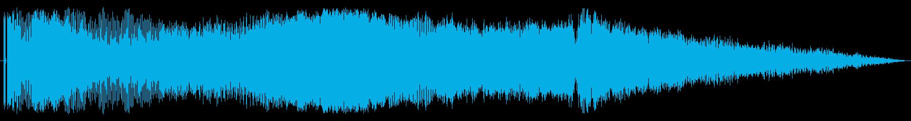 【レース07】ド迫力のエンジン効果音!の再生済みの波形