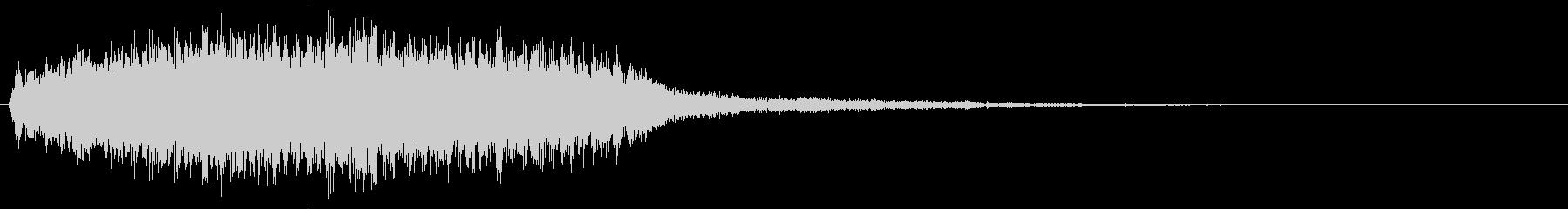 タイトルバック ホラー 16の未再生の波形