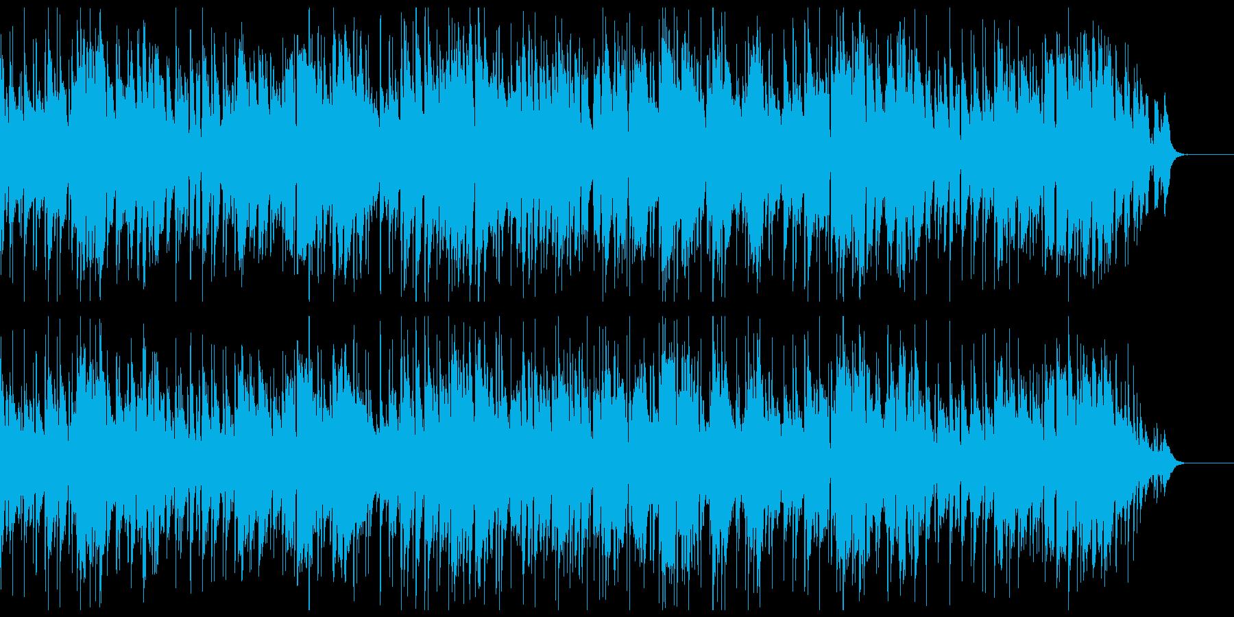 おしゃれなカフェボサノバの再生済みの波形