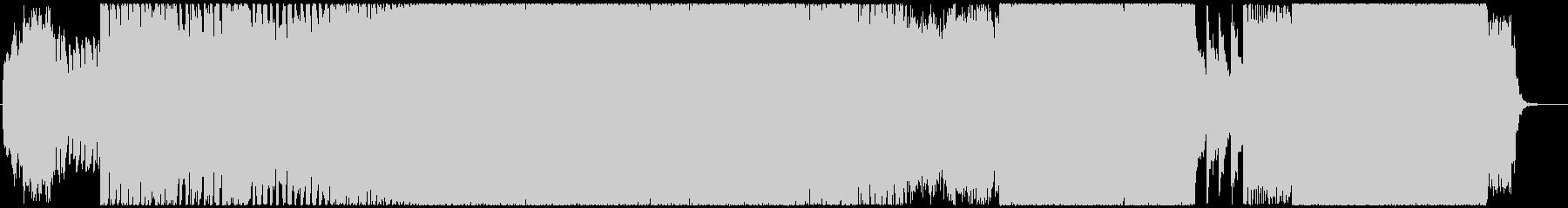 音ゲー風スピードコアのオリジナルver.の未再生の波形