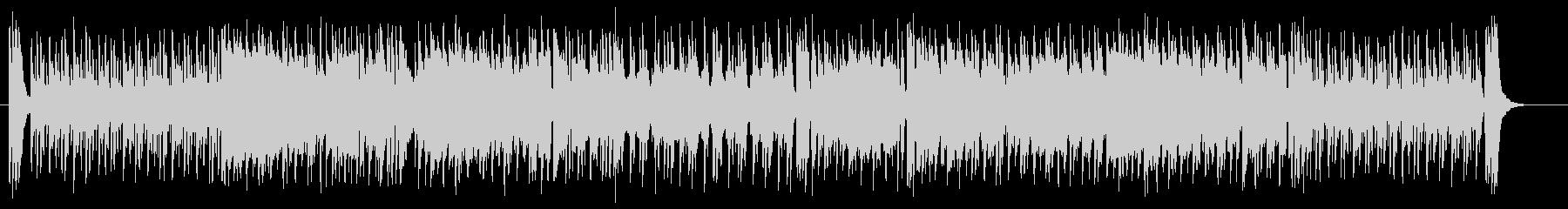 ムーディで華麗なジャズ系サウンドの未再生の波形