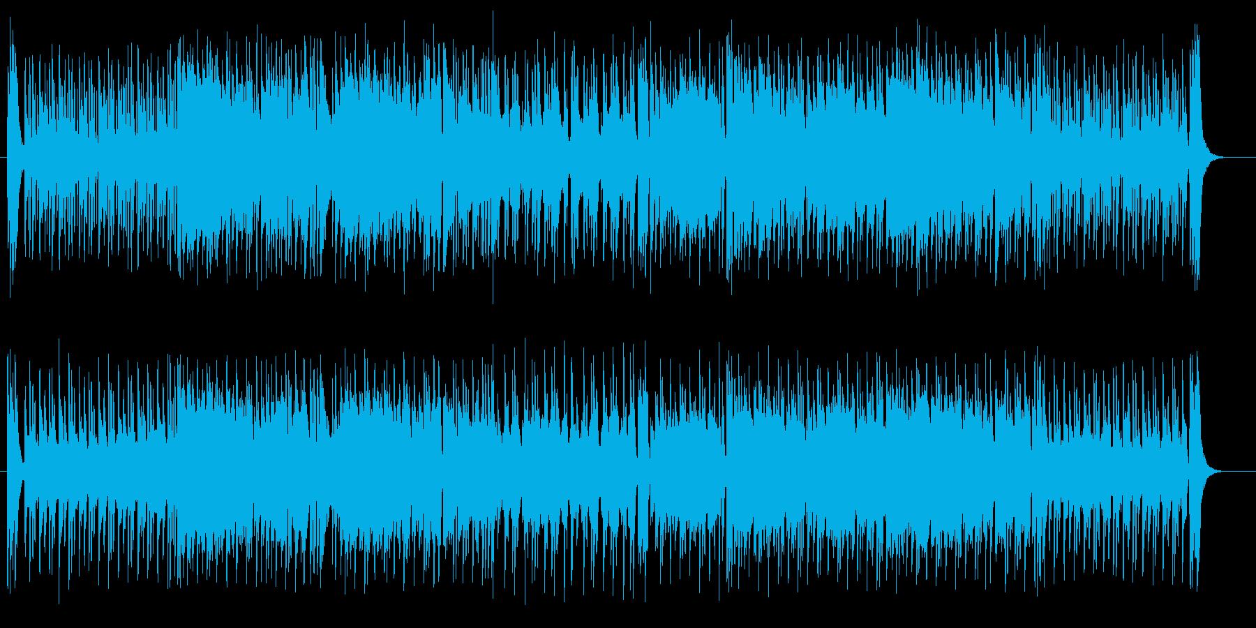 ムーディで華麗なジャズ系サウンドの再生済みの波形