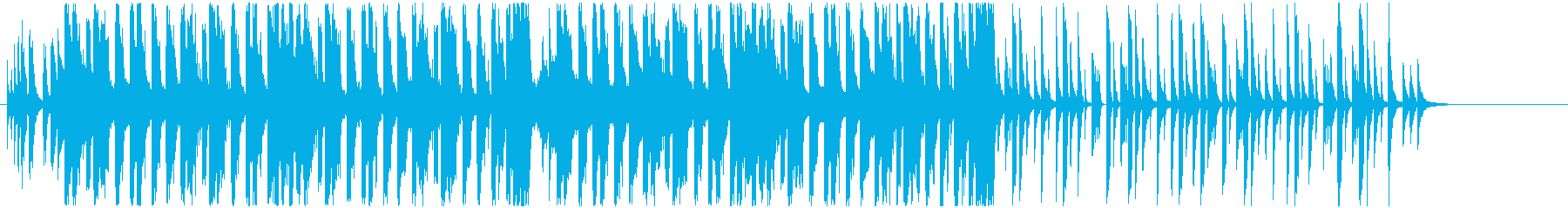 ハッピーなフューチャーベースの再生済みの波形