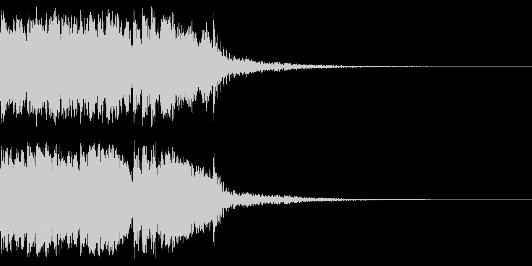 ファンファーレ 当たり 正解 合格 01の未再生の波形