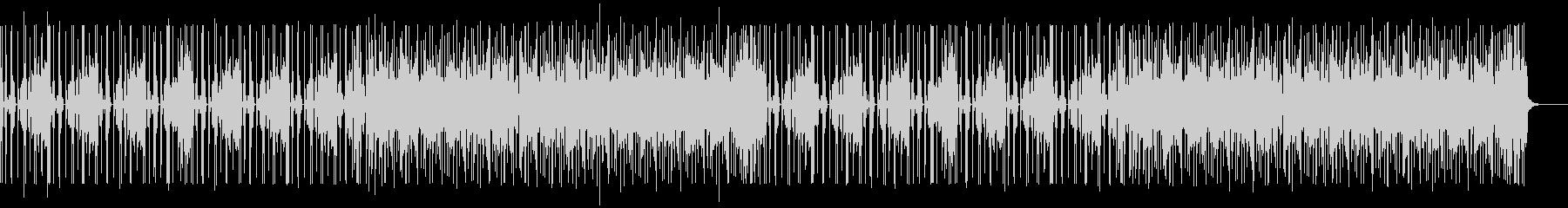 ファンキーなBGM Aの未再生の波形