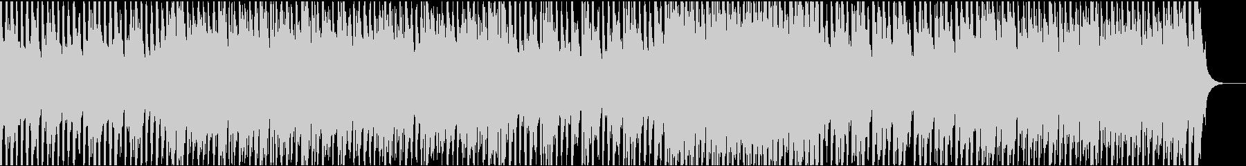 ハープシコード・ハロウィン風の怪しい曲の未再生の波形