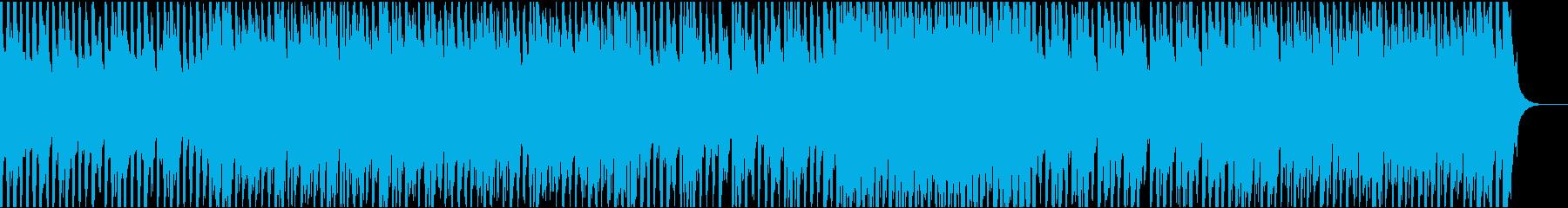 ハープシコード・ハロウィン風の怪しい曲の再生済みの波形