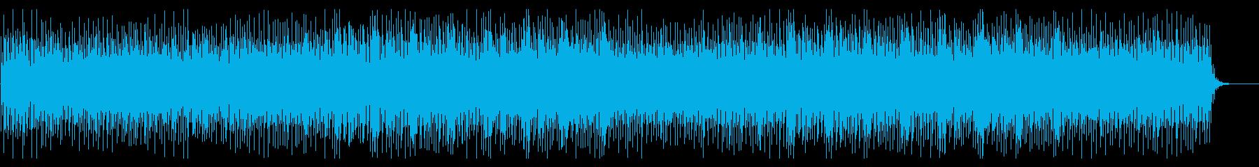 【リズム抜】科学技術/知的、冷静な雰囲気の再生済みの波形