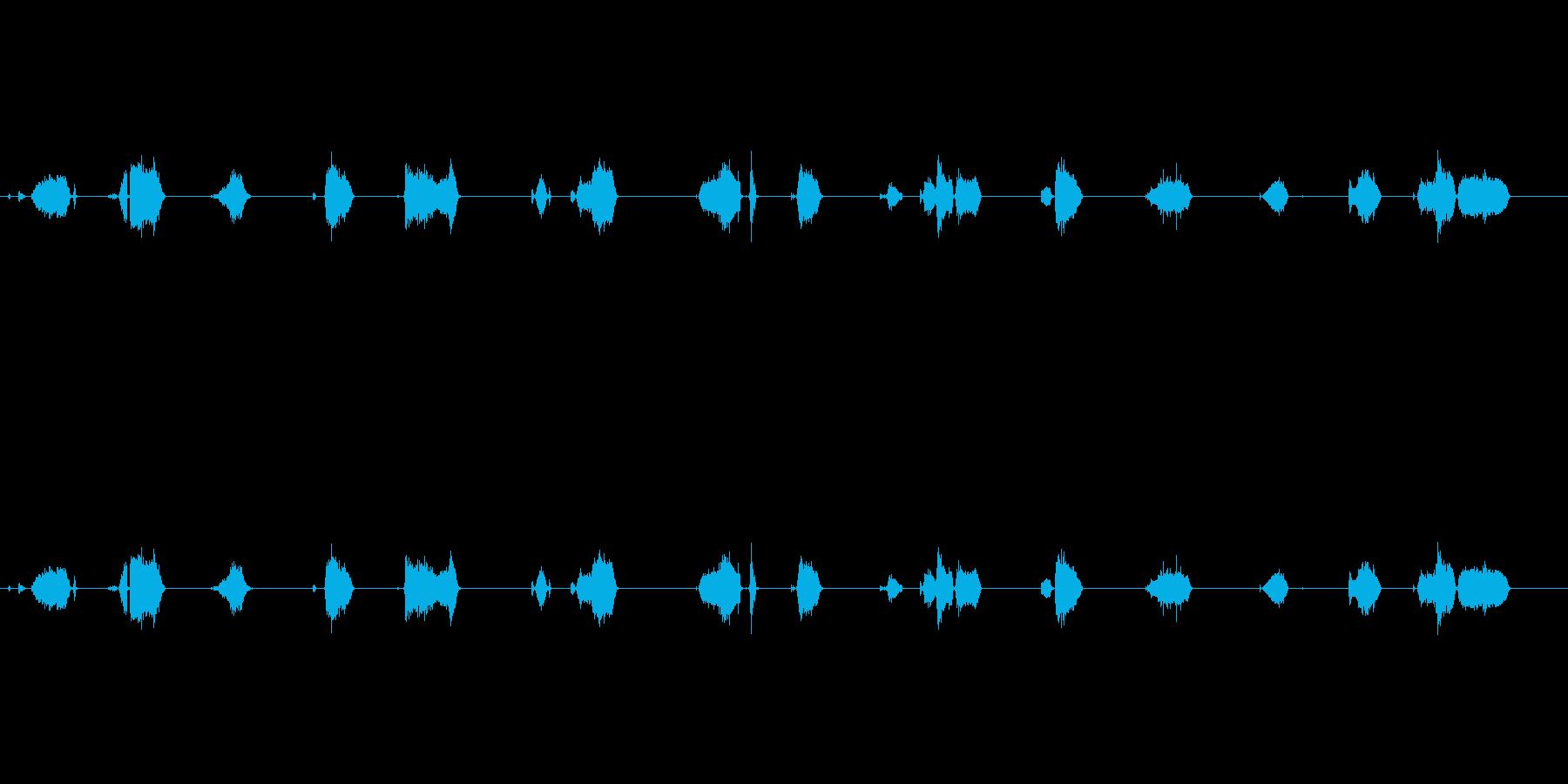 【フェルトペン02-1(書く)】の再生済みの波形