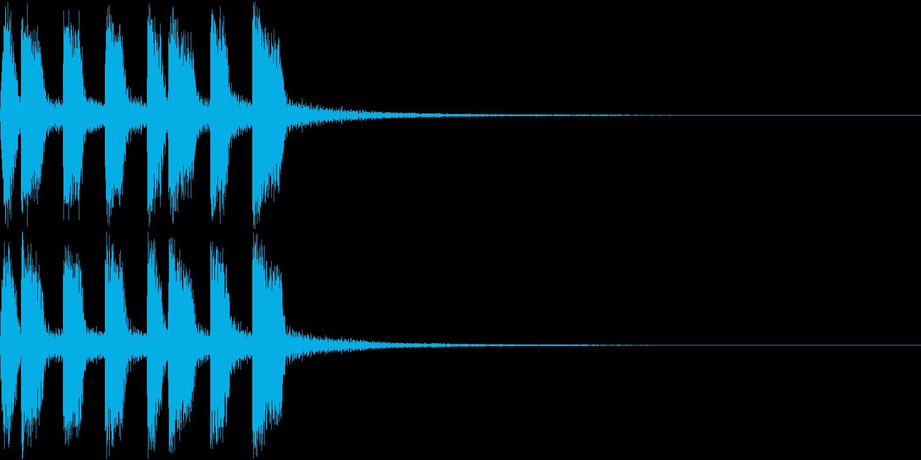 アイテム ファンファーレ ゲット音 2の再生済みの波形