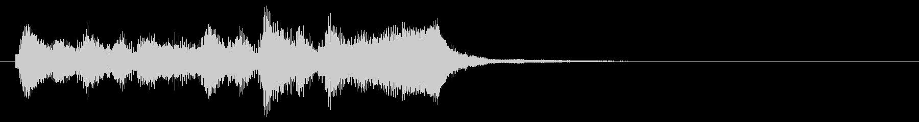 のほほんジングル013_怪しいの未再生の波形