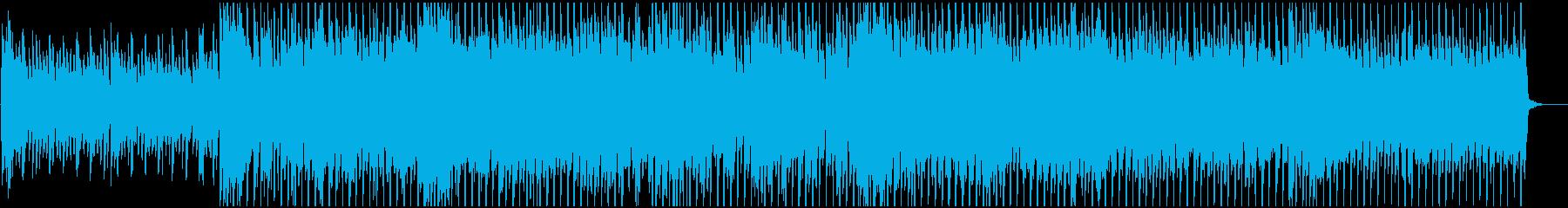 ハロウィン・怪しいアコーディオンのハウスの再生済みの波形