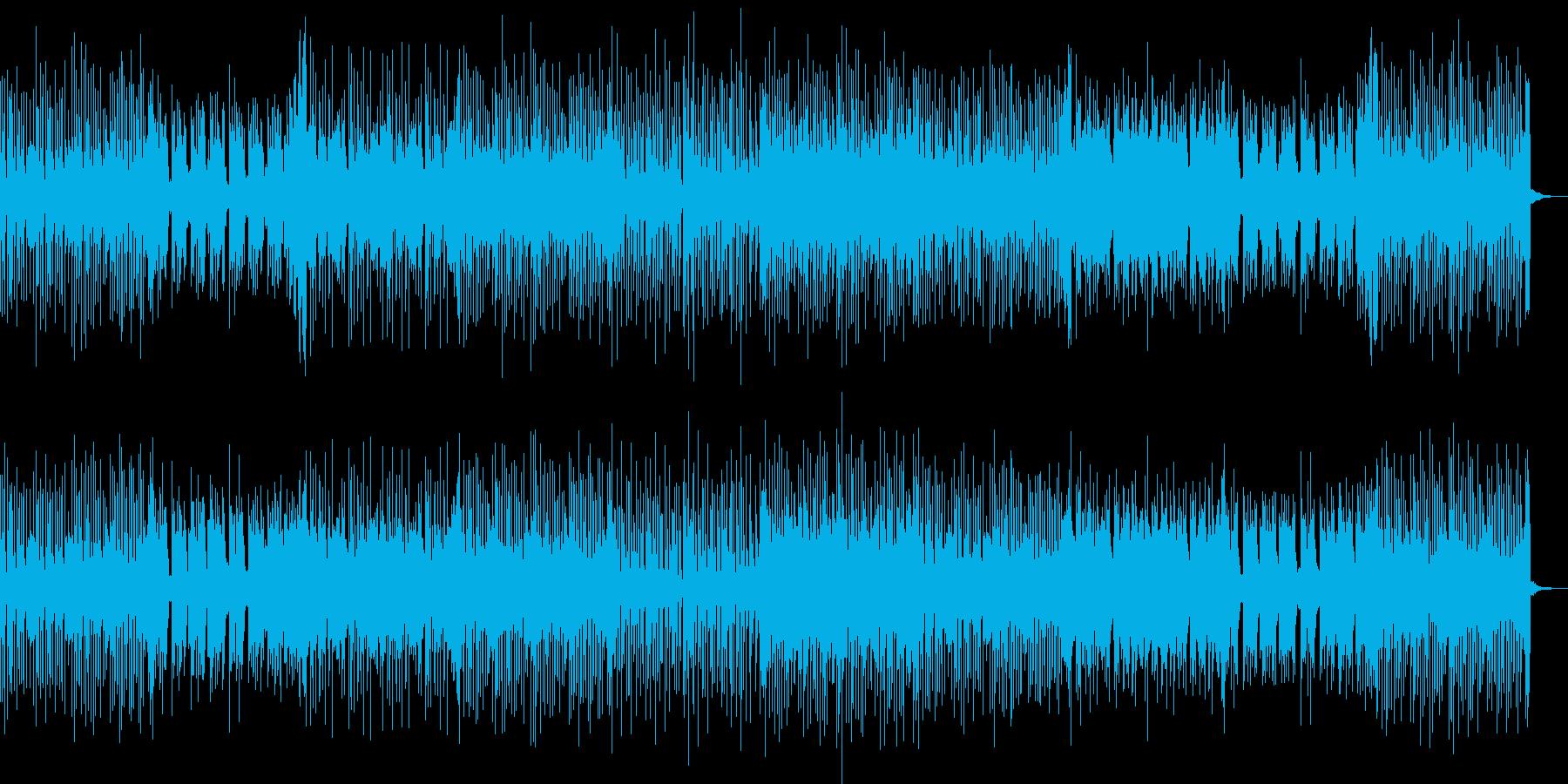 切なくておしゃれな感じのテクノハウスの再生済みの波形