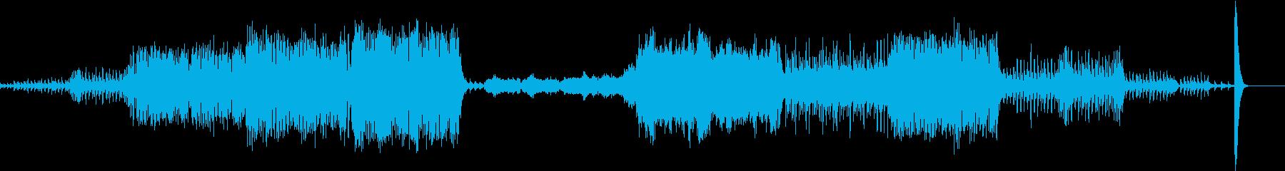 東洋的なクラシック ペルシャの市場にての再生済みの波形