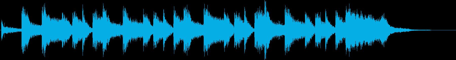ジングル サウンドキャッチ 60年代風の再生済みの波形