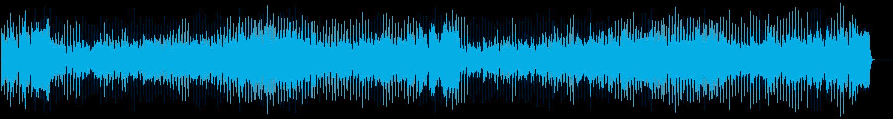 スピーチのBGMに最適なフュージョンの再生済みの波形