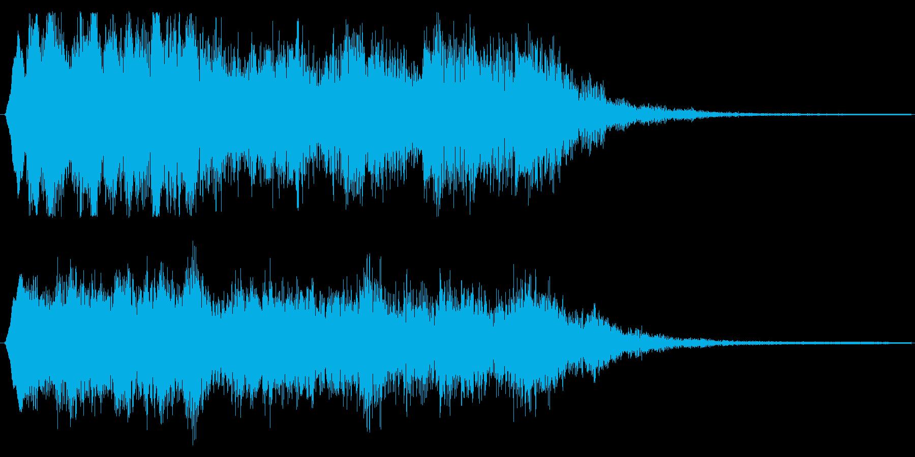クラシカルな場面転換 バイオリンフレーズの再生済みの波形