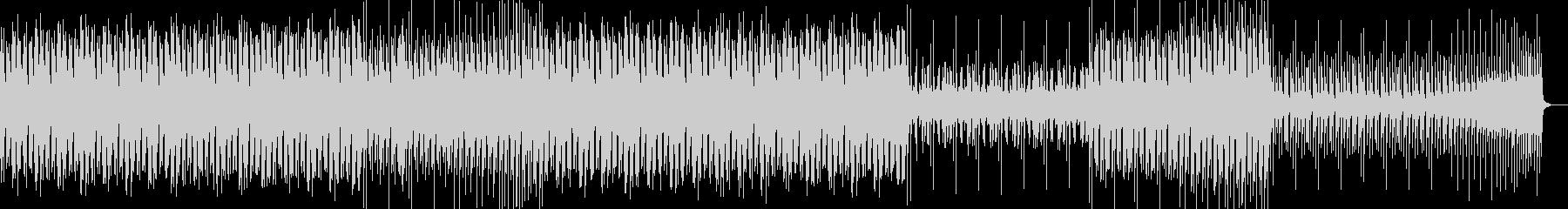 踊れるエレクトロスウィング風BGMの未再生の波形