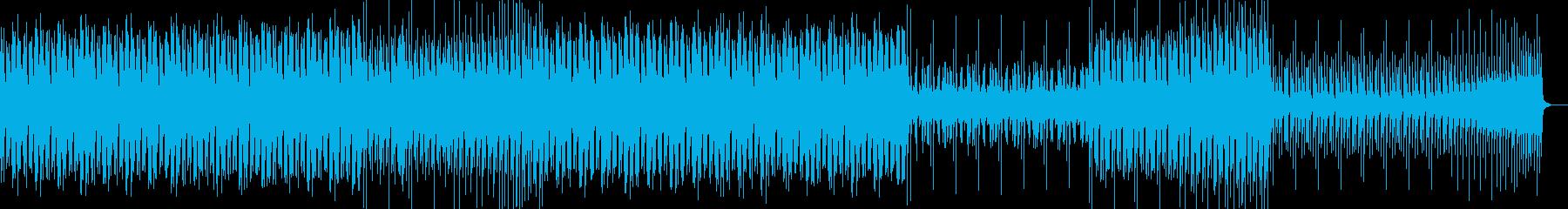 踊れるエレクトロスウィング風BGMの再生済みの波形