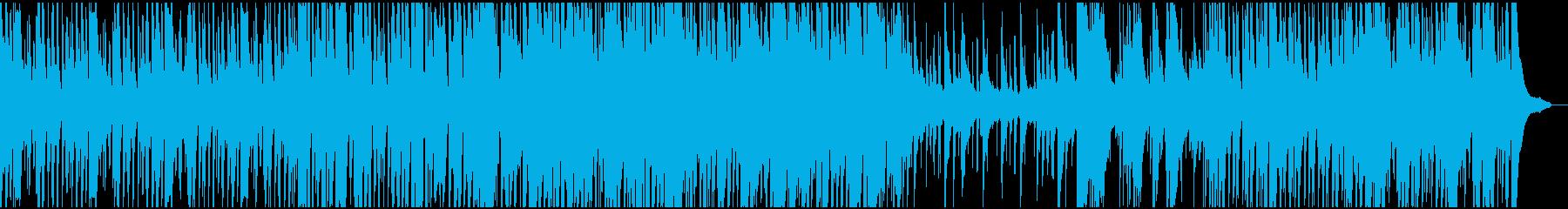 3分間のトリオジャズ+リード2種の再生済みの波形