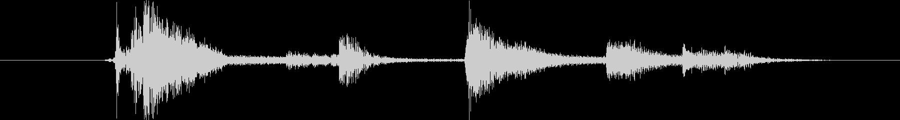 メタル ドロップストーン02の未再生の波形