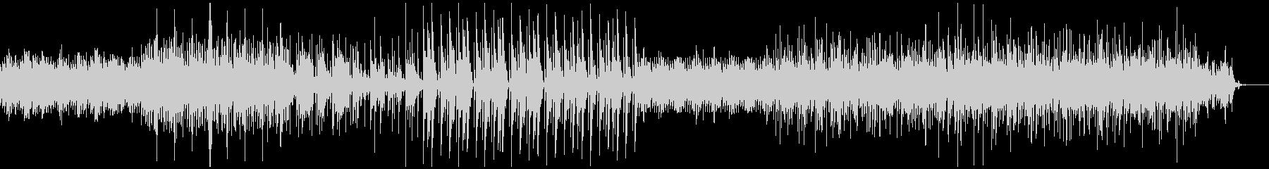 かわいらしくも切ないエレクトロニカ曲の未再生の波形