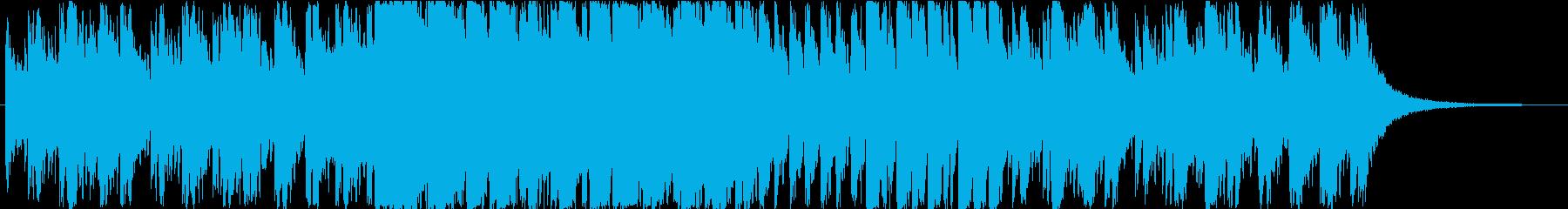 和楽器とフランス映画の融合がテーマの曲の再生済みの波形
