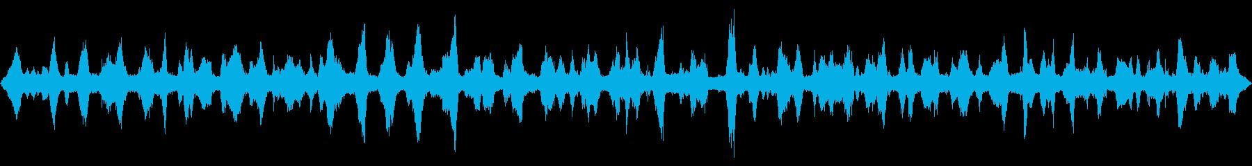 静かな波 【北の脇、徳島、夜、初秋】の再生済みの波形