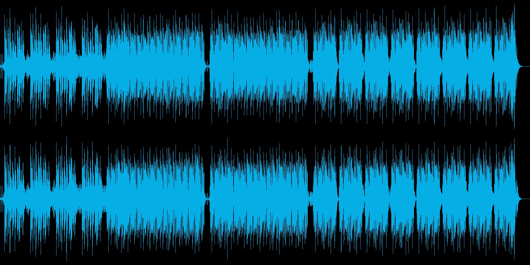 お洒落ジャズフュージョン二次会リズミカルの再生済みの波形