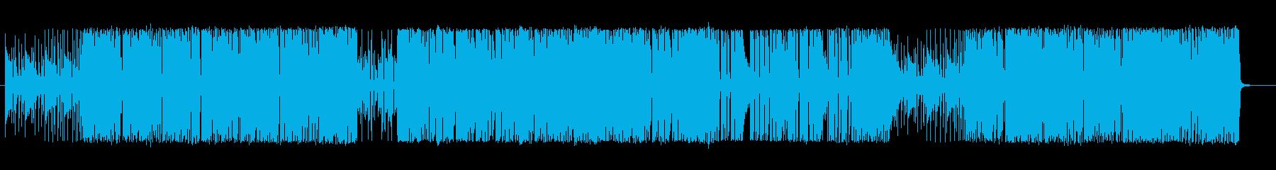 プログレ・民族音楽風変拍子の再生済みの波形