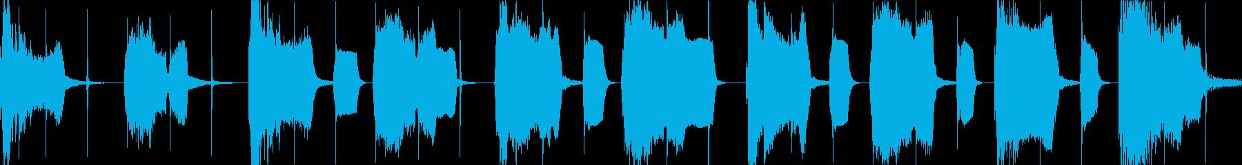 ループ  ほのぼの/日常/脱力の再生済みの波形