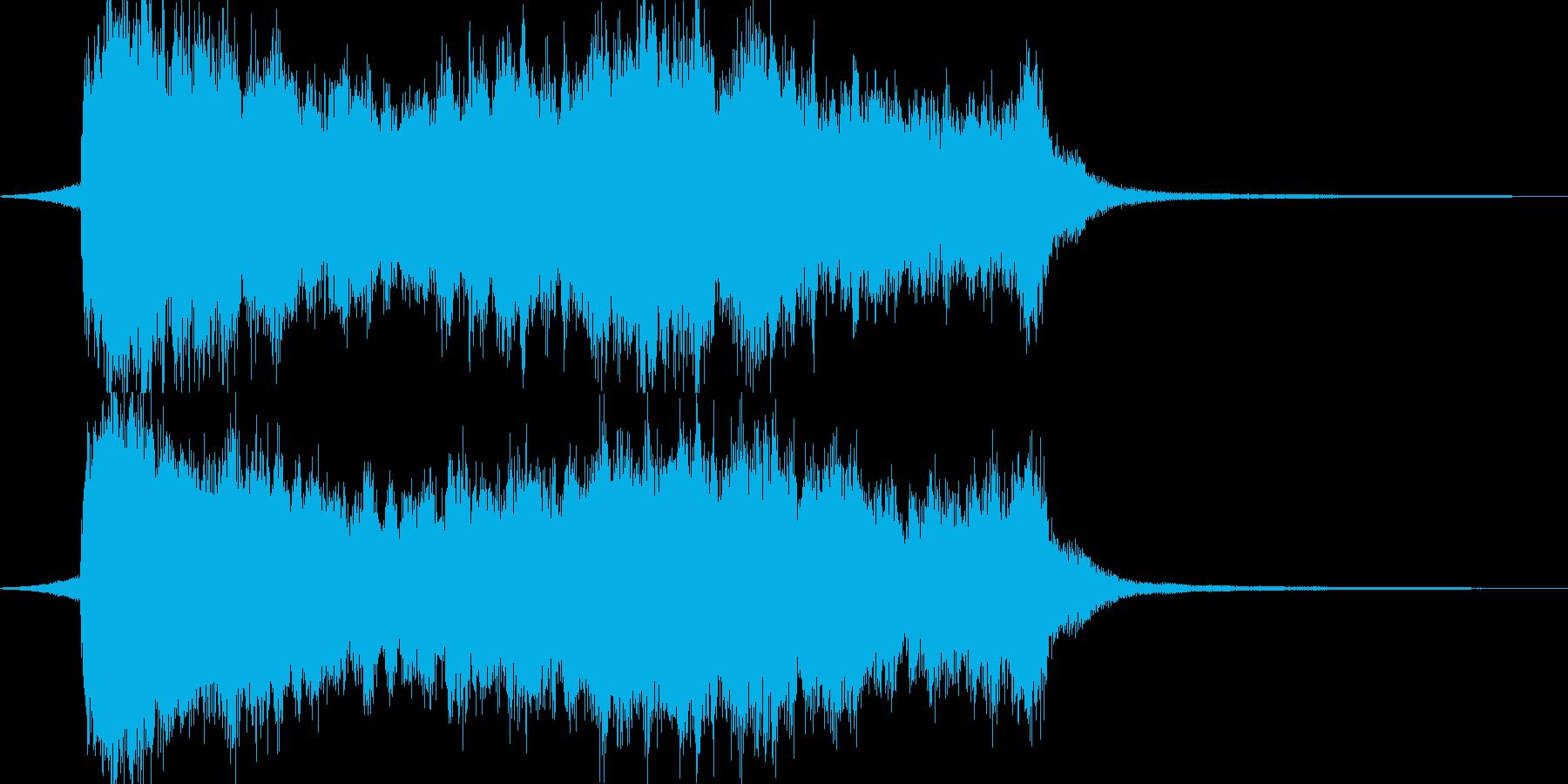 悪との対峙 シンフォニックなジングルの再生済みの波形