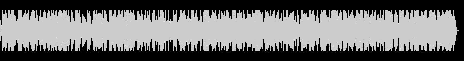 モダンブルーススタイルのブルースの未再生の波形