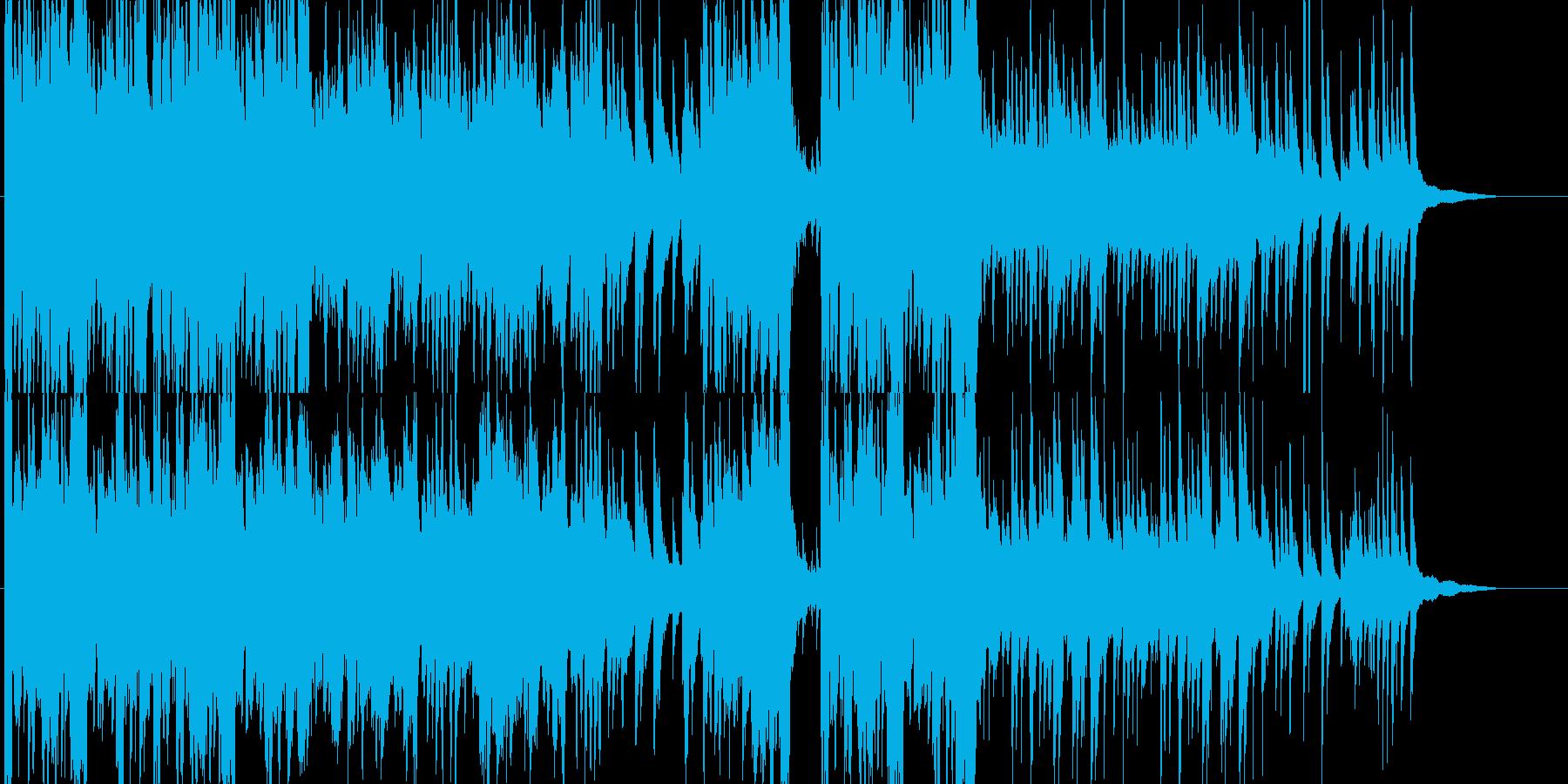 ピアノとストリングスが印象的な希望の曲の再生済みの波形
