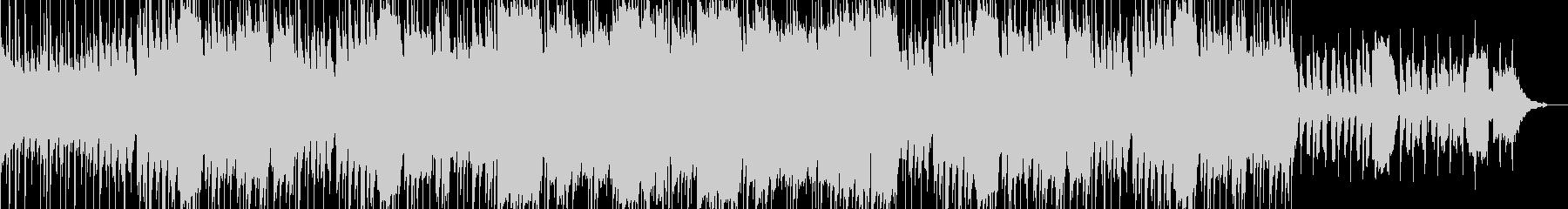 口笛が印象的なBGMの未再生の波形