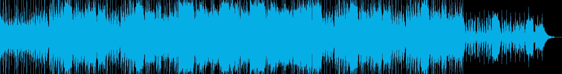 口笛が印象的なBGMの再生済みの波形