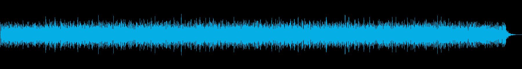 睡眠用に作った癒しの曲です。の再生済みの波形