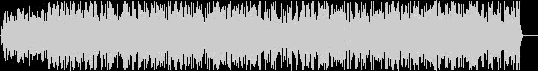 ポップパーティーチューン-カートゥーンの未再生の波形