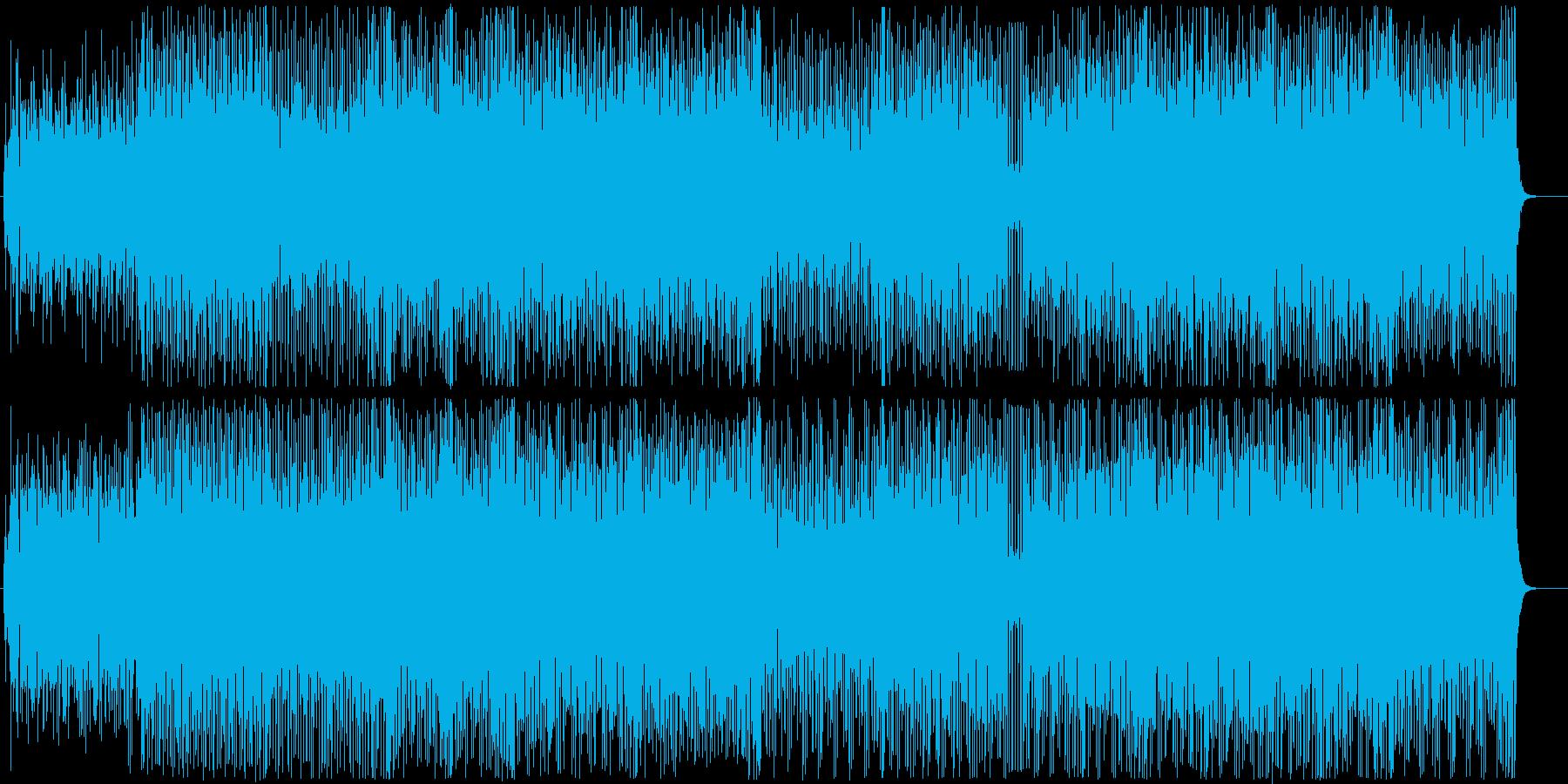 ポップパーティーチューン-カートゥーンの再生済みの波形