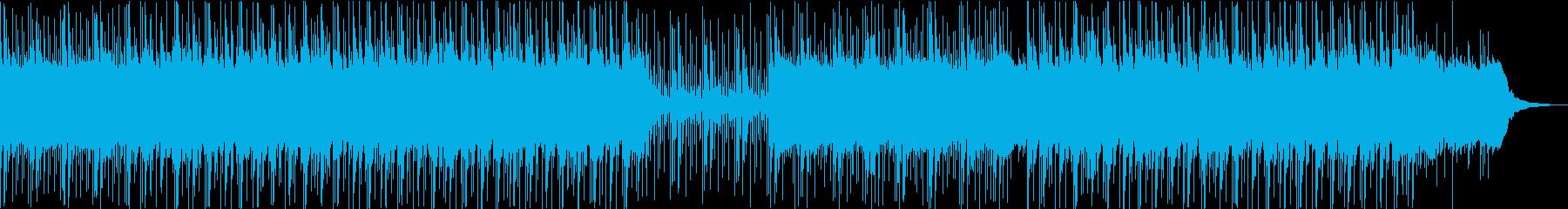 エスニック系不思議クールなエレクトロニカの再生済みの波形