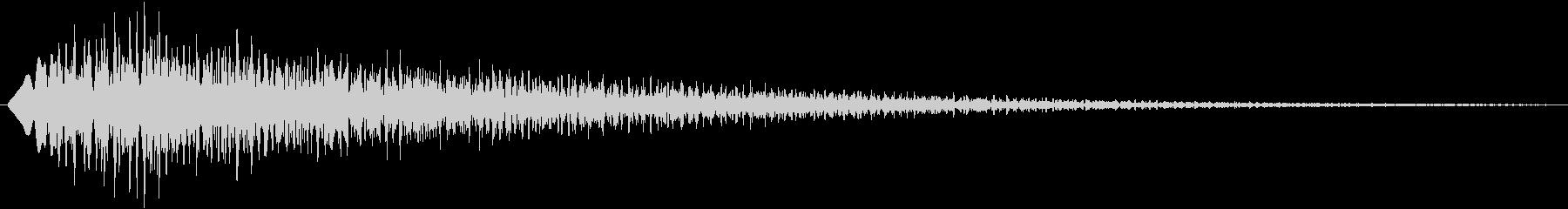 フワフワー(決定、ゲーム)の未再生の波形